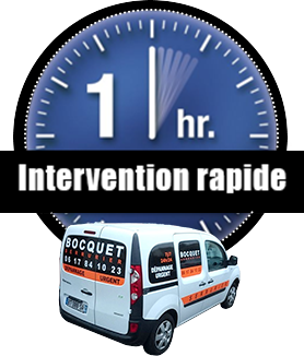 Intervention serrure